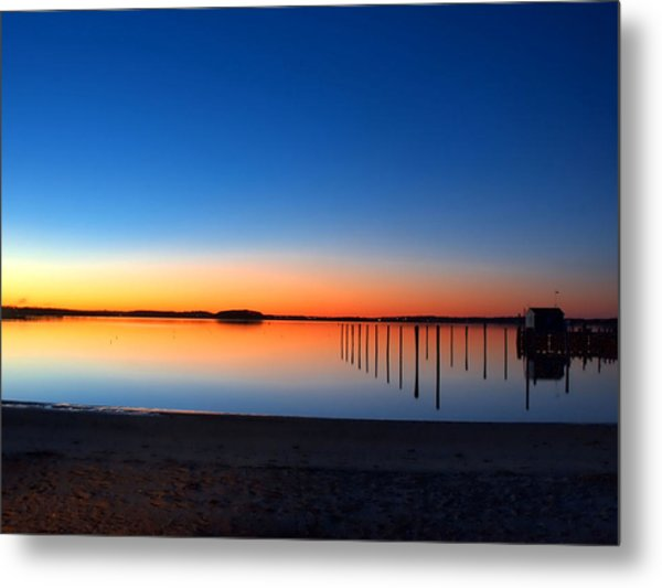 Night Fall Metal Print