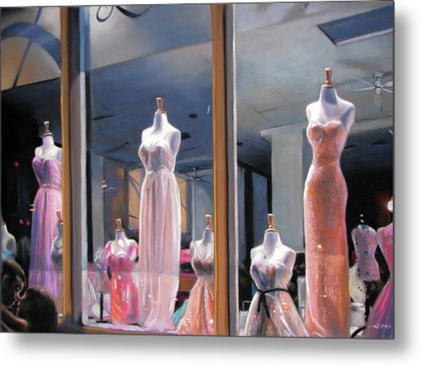 Night, Gowns Metal Print