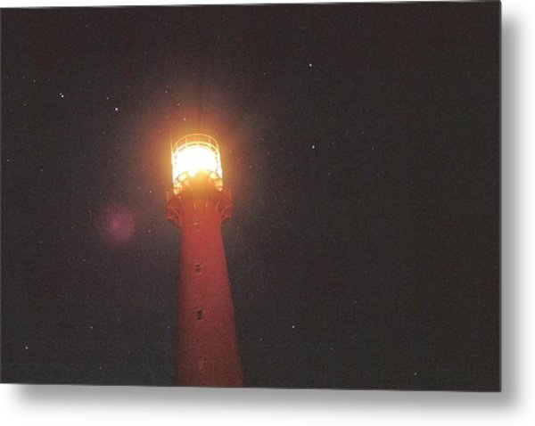 Night Light Metal Print by Gregory Barger