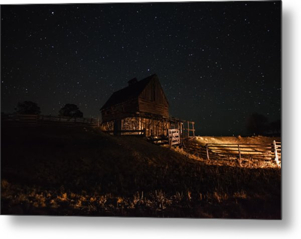 Night Magic  Metal Print