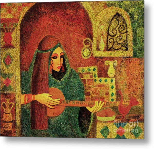 Night Music 3 Metal Print