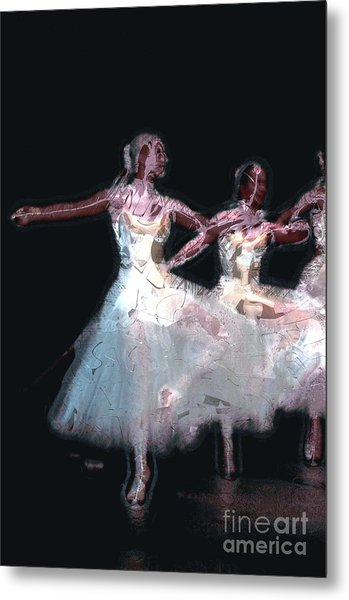 Night Of The Ballet Metal Print