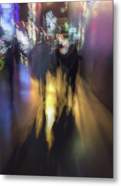 Night On The Town Metal Print