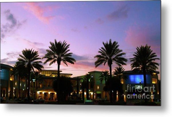 Night On The Town Palm Beach Florida Photo 515 Metal Print