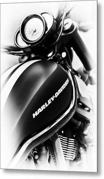 Night Rod Metal Print by Tim Gainey