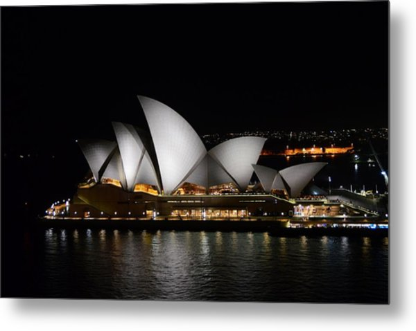 Night Symphony Metal Print