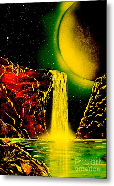 Nightfalls 4679 Metal Print