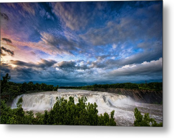 Nightfalls Metal Print