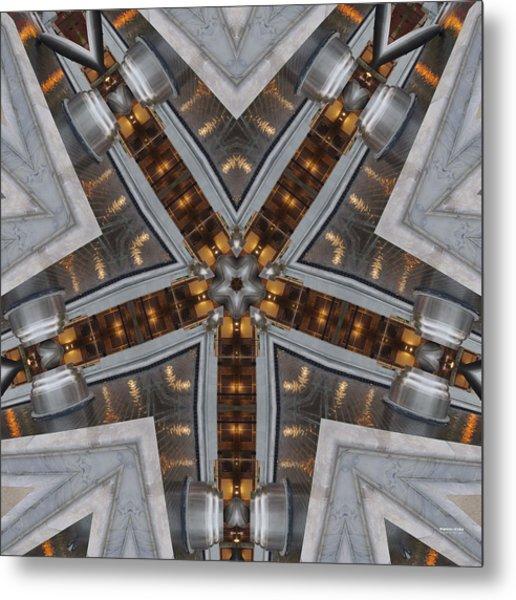 Metal Print featuring the digital art Nightlife 1316k5 by Brian Gryphon