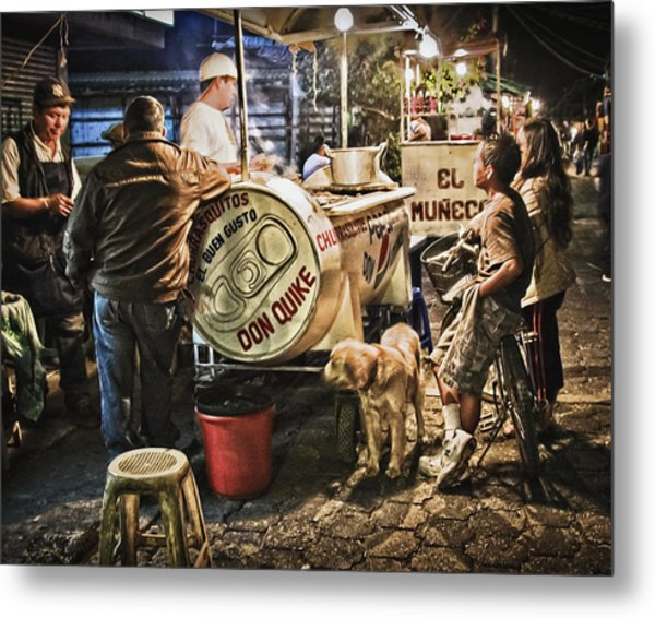 Nightlife In Guatemala Metal Print