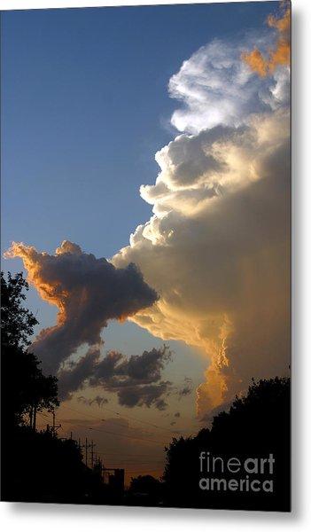 Nightly Storm Metal Print