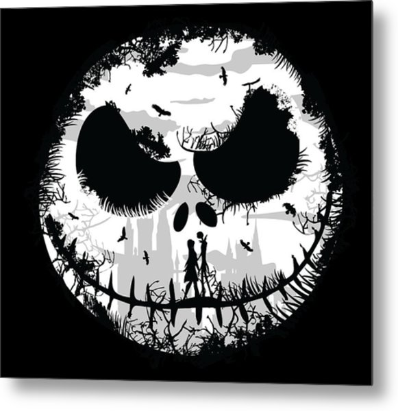 Metal Print featuring the digital art Nightmare by Christopher Meade