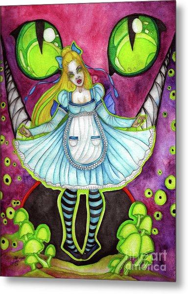 Nightmare Metal Print by Coriander Shea