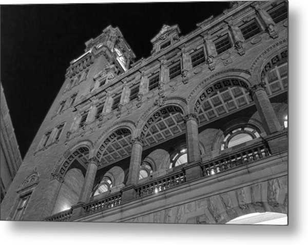 Nights At Main Street Station Metal Print