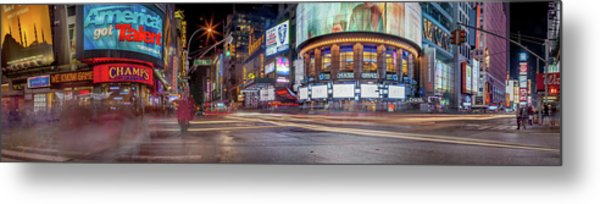 Nights On Broadway Metal Print