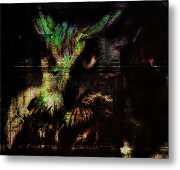 Nightvision Metal Print