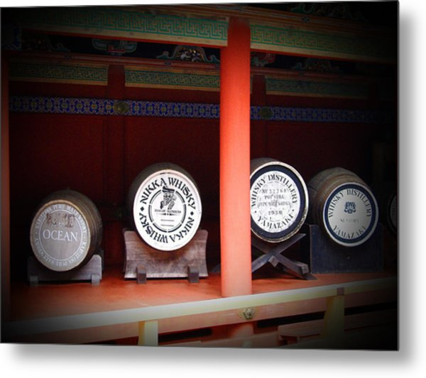 Nikka Whiskey Metal Print