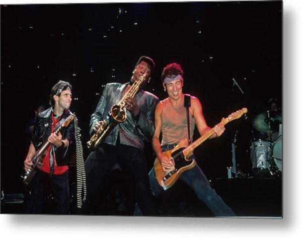 Nils Clarence And Bruce Metal Print