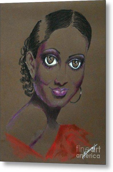 Nina Mae -- African-american Actress Portrait Metal Print