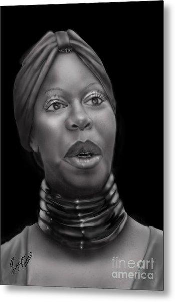Nina Simone-revolution Metal Print