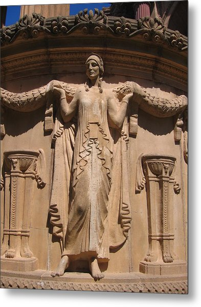 Nine-toed Maiden At The Palace Of Fine Arts In San Francisco Metal Print by Don Struke