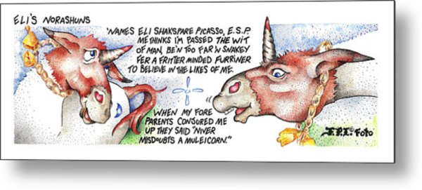 Niver Misdoubts Fpi Cartoon Metal Print