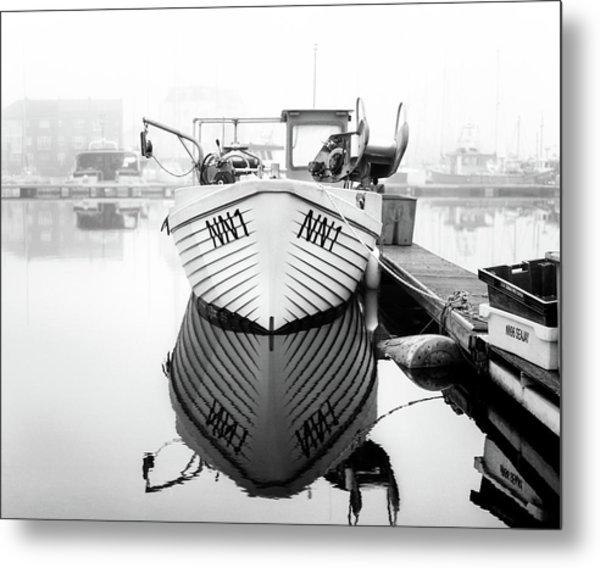 Metal Print featuring the photograph Nn1 Fishing Boat by Will Gudgeon