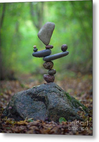 Zen Stack #5 Metal Print