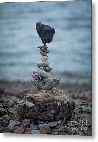 Zen Stack #6 Metal Print