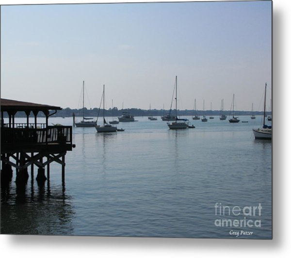 No Wind Metal Print by Greg Patzer