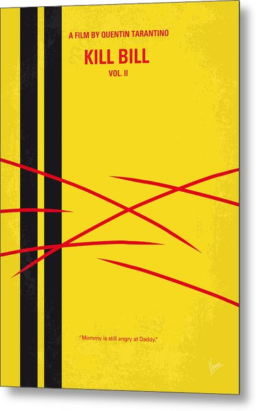 No049 My Kill Bill-part2 Minimal Movie Poster Metal Print