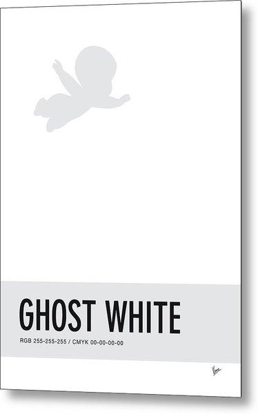 No09 My Minimal Color Code Poster Casper Metal Print