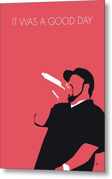 No132 My Ice Cube Minimal Music Poster Metal Print
