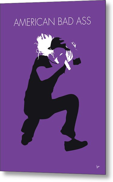 No181 My Kid Rock Minimal Music Poster Metal Print