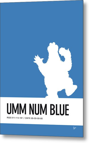 No29 My Minimal Color Code Poster Cooky  Metal Print