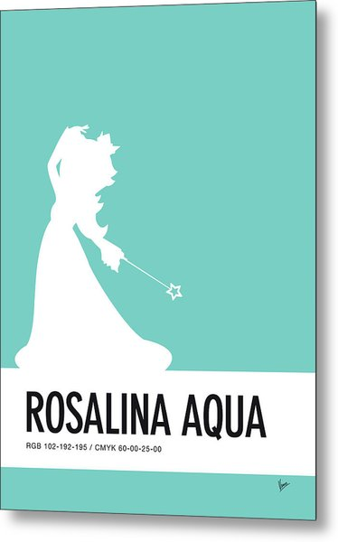 No39 My Minimal Color Code Poster Rosalina Metal Print