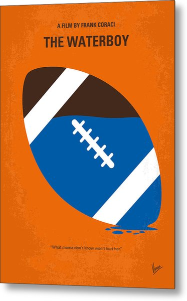 No580 My The Waterboy Minimal Movie Poster Metal Print