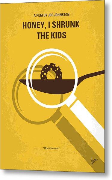 No641 My Honey I Shrunk The Kids Minimal Movie Poster Metal Print