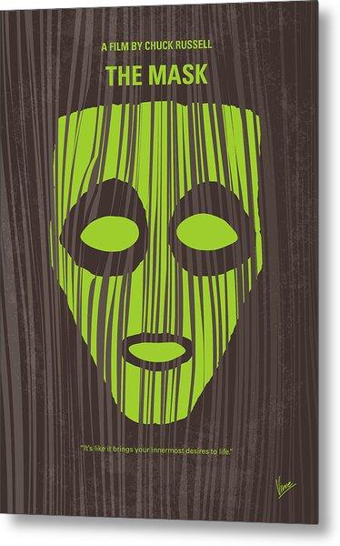 No647 My The Mask Minimal Movie Poster Metal Print