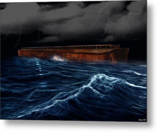 Noah Ark Metal Print by Evelyn Patrick