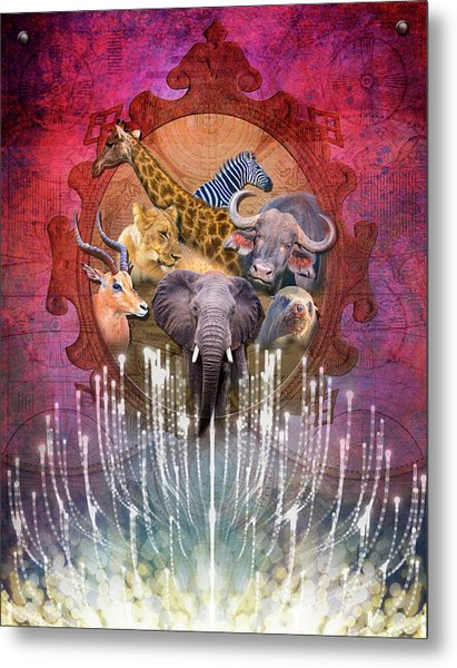 Noble Creatures Metal Print