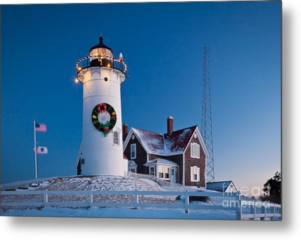 Nobska Light Metal Print