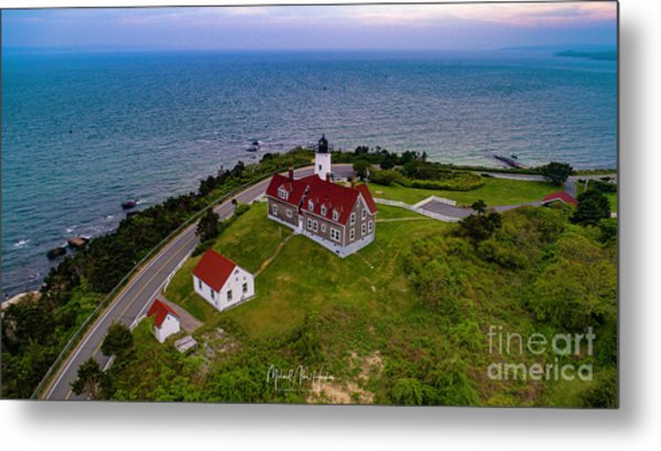 Nobska Point Lighthouse Metal Print