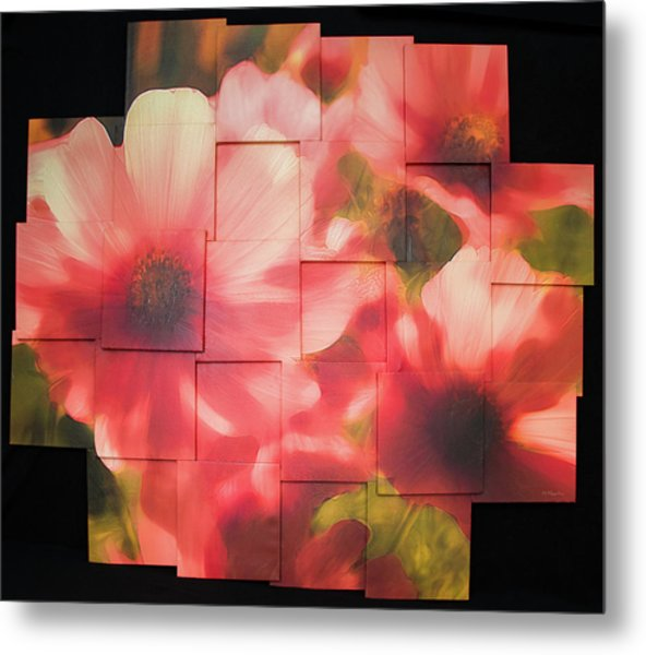 Nocturnal Pinks Photo Sculpture Metal Print