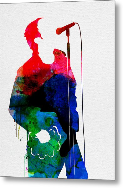 Noel Watercolor Metal Print