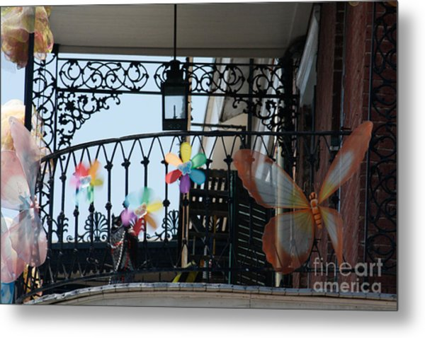 Nola French Quarter Metal Print