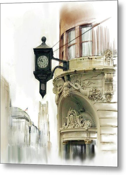 Nola Time Metal Print