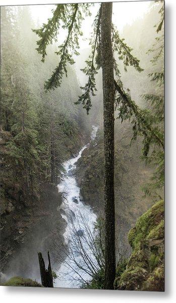 Wonderful Waterfall Metal Print