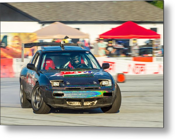 Metal Print featuring the photograph Nopi Drift 1 by Michael Sussman