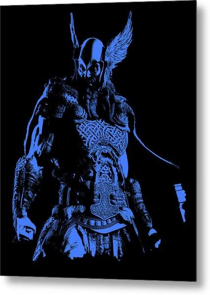 Nordic Warrior Metal Print